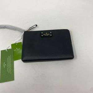 Kate Spade Leoni Large Wristlet Wallet Black